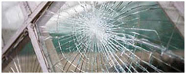 Thornaby On Tees Smashed Glass